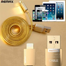 Remax Gold Cable for iPhone