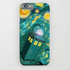 Police Box Printed Mobile Cover