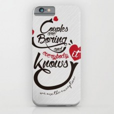 Couples are Boring Printed Mobile Cover