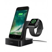 Belkin PowerHouse Charge Dock For Apple Watch + iPhone (F8J200tt-BLK)