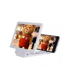 Enlarged Screen Mobile Phone 3D - White