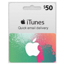 iTunes $50 Gift Card (US Region)