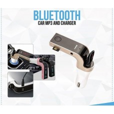Bluetooth MP3 Player Car Kit with USB Charger, FM Transmitter Handsfree USB/SD/AUX-IN