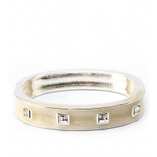 Attractable Silver Off White Bracelet