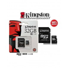Kingston UHS 1 - 32GB Class 10 - Micro Sd Memory Card - Black