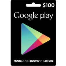 $100 Google Play Gift Card (US-Region)