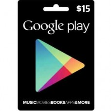 $15 Google Play Gift Card (US-Region)