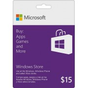 $15 Windows Store Gift Card [Online Delivery]