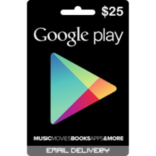 $25 Google Play Gift Card (US-Region)