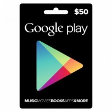 $50 Google Play Gift Card (US-Region)