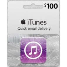 iTunes $100 Gift Card (US Region)