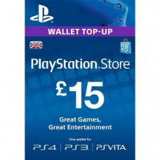 15 GBP PSN Gift Card (UK Region)