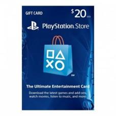 PSN 20$ Card USA for Ps3 - Ps4 - PsVita