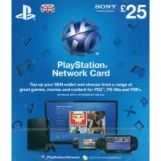 25 GBP PSN Gift Card (UK Region)