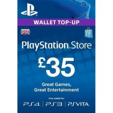 35 GBP PSN Gift Card (UK Region)
