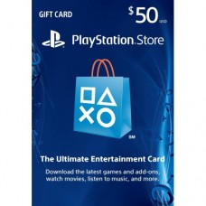 PSN 50$ Card USA for Ps3 - Ps4 - PsVita