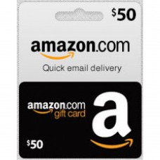 $50 Amazon Gift Card (Email Delivery)