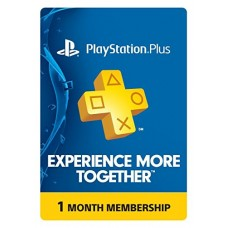 PS Plus 1 Month Membership - PS3 / PS4 / PS Vita [Digital Code] - USA