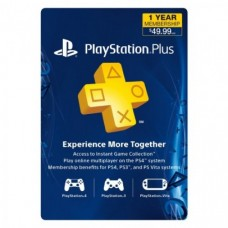 PlayStation Plus Membership 1 Year Card for Ps3 - Ps4 - PsVita (USA Region)