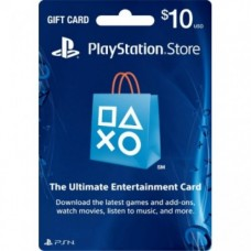 PSN 10$ Card USA for Ps3 - Ps4 - PsVita