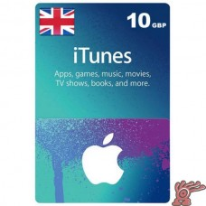 GBP10 iTunes Gift Card (UK)