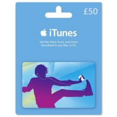 iTunes £50 Gift Card (UK Region)