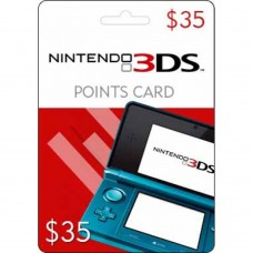 Nintendo 3DS $35 Prepaid Game Card (Online Delivery)