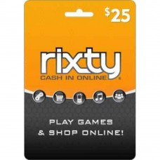 Rixty $25 Prepaid Card (Online Delivery)