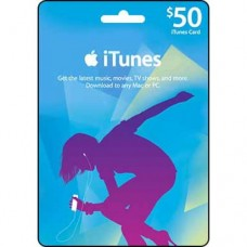 iTunes $50 Gift Card (Australia Region)