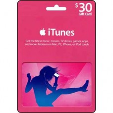 iTunes $30 Gift Card (Australia Region)