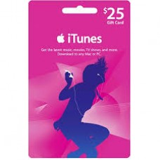 iTunes $25 Gift Card (US Region)
