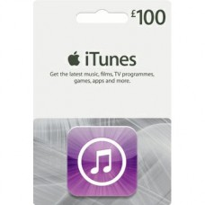 GBP100 iTunes Gift Card (UK)