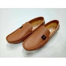 Camel Leather Loafer for Mens - Code: MD 08