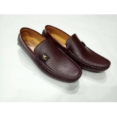 Brown Leather Loafer for Mens - Code: MD 12