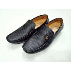Black Leather Loafer for Mens - Code: MD 11