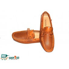 Brown Leather Loafers for Men - Code: B-841