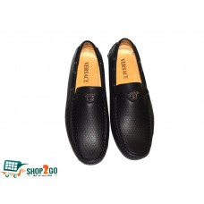 Black Loafers for Men - Code: B-18