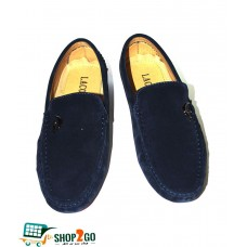 Blue Loafers for Men - Code: B-8622