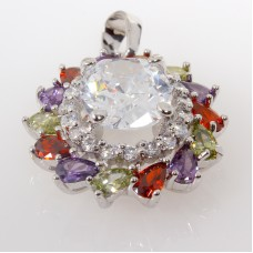 Crystal With Multi Pendant
