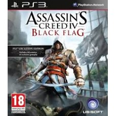 Assassin Creed IV Black Flag - Ps3 Game