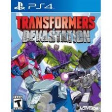 Transformers: Devastation - Ps4 Game