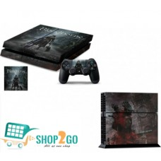 Bloodborne Protective Skin for Ps4