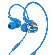 Remax S1 Sports Earphone In-Ear Headphones with Microphone - Blue