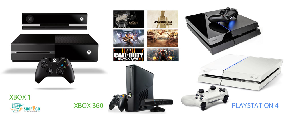 Xbox 1, Playstation4 consoles available on games4u.pk