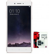 "Oppo F1s - 5.5"" - 13MP - 32 GB - 3GB RAM - Octa Core 1.5 GHz - Rose Gold - With Free 16 GB Memory Card 1 Year Brand Warranty"