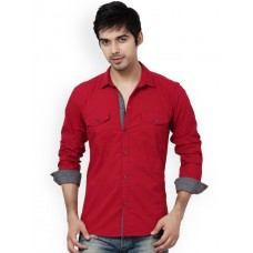 Red Men Casual Shirt - S-7896